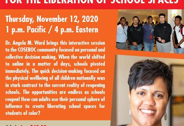 Dr. Angela Ward: It's time to use your influence for the liberation of school spaces!