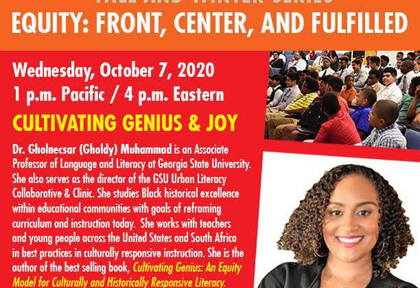 Cultivating Genius & Joy, with Dr. Gholdy Muhammad